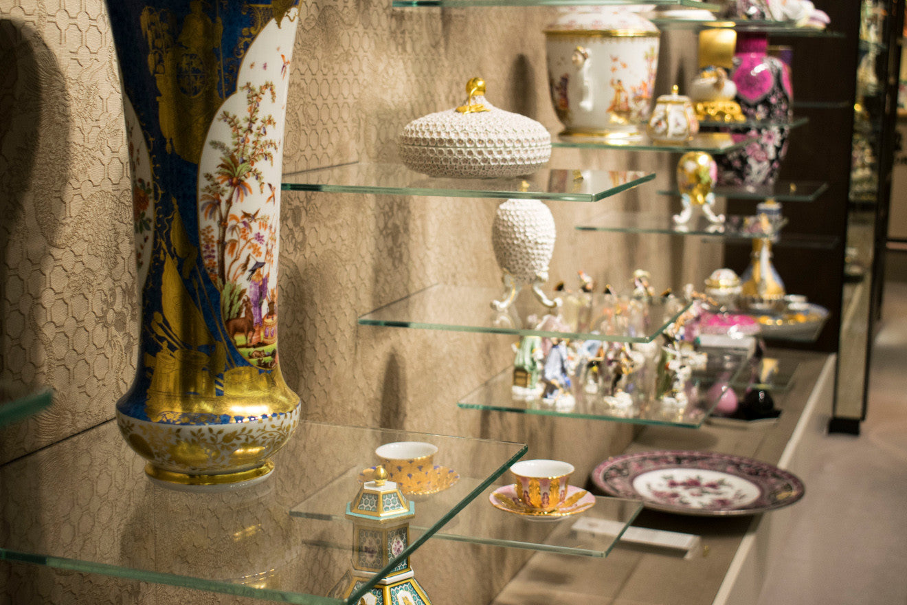 Meissen show space Harrods London