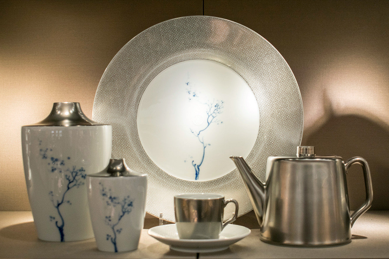 Meissen Blue Orchid tableware and crockery Harrods