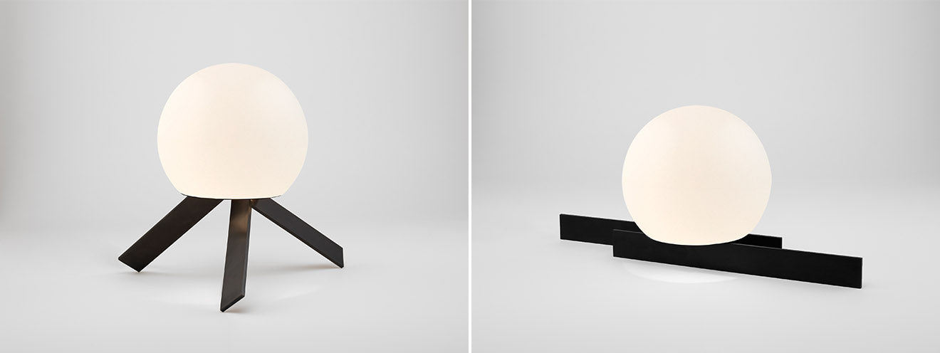 Michael Anastassiades globe lighting black finish