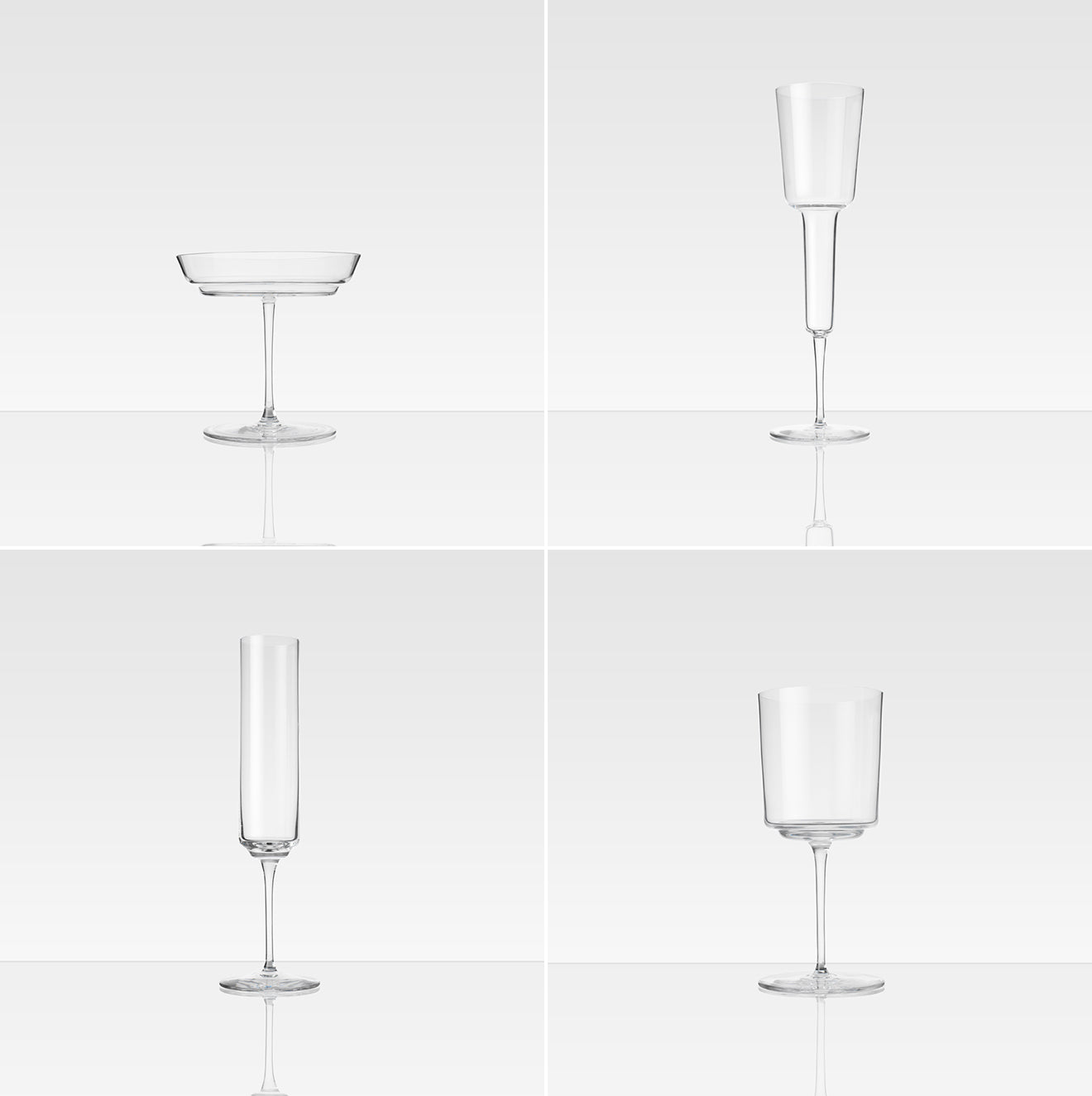Michael Anastassiades Glassware collaboration with StudioILSE