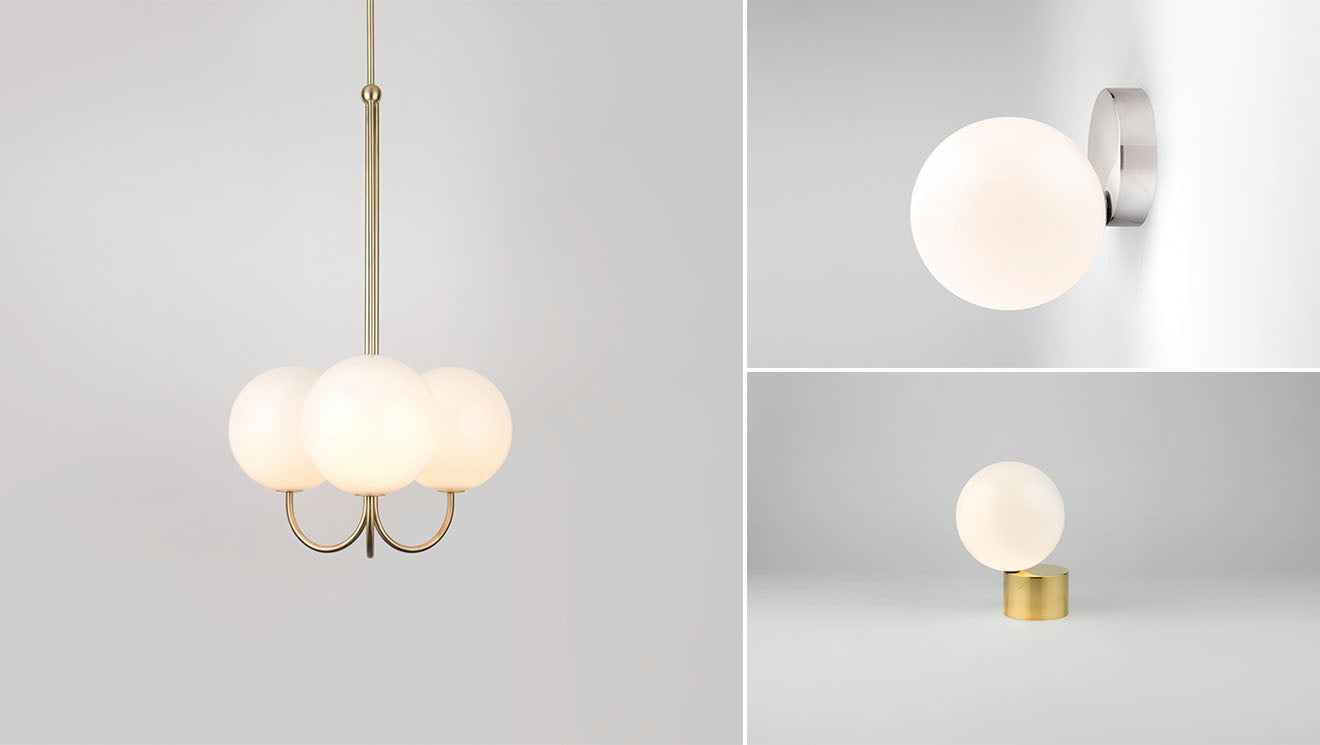 Michael Anastassiades globe lighting designs
