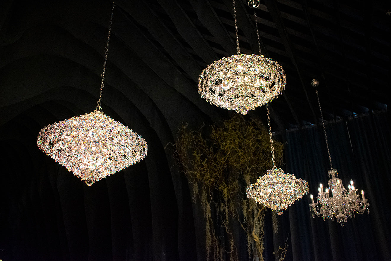 Swarovski lighting and atelier home at Euroluce Salone del Mobile