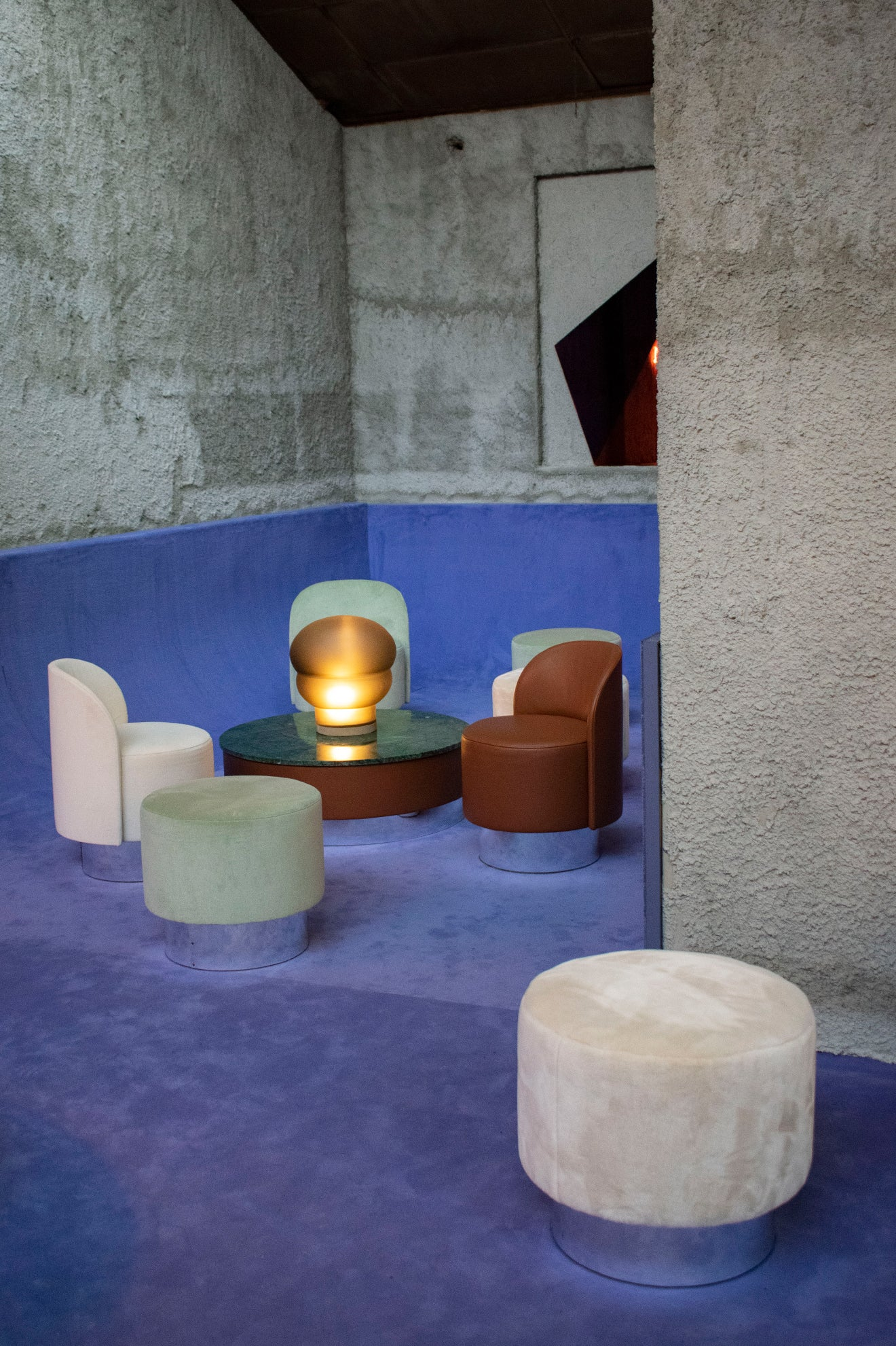 Studiopepe exhibits Les Arcanistes during Milan Design Week