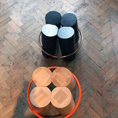Modern stool design at Designjunction