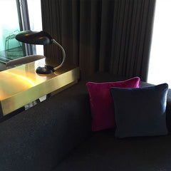 Mondrian Hotel Suite Brass Desk