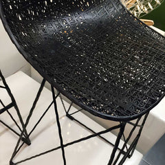 Black carbon chair from Moooi