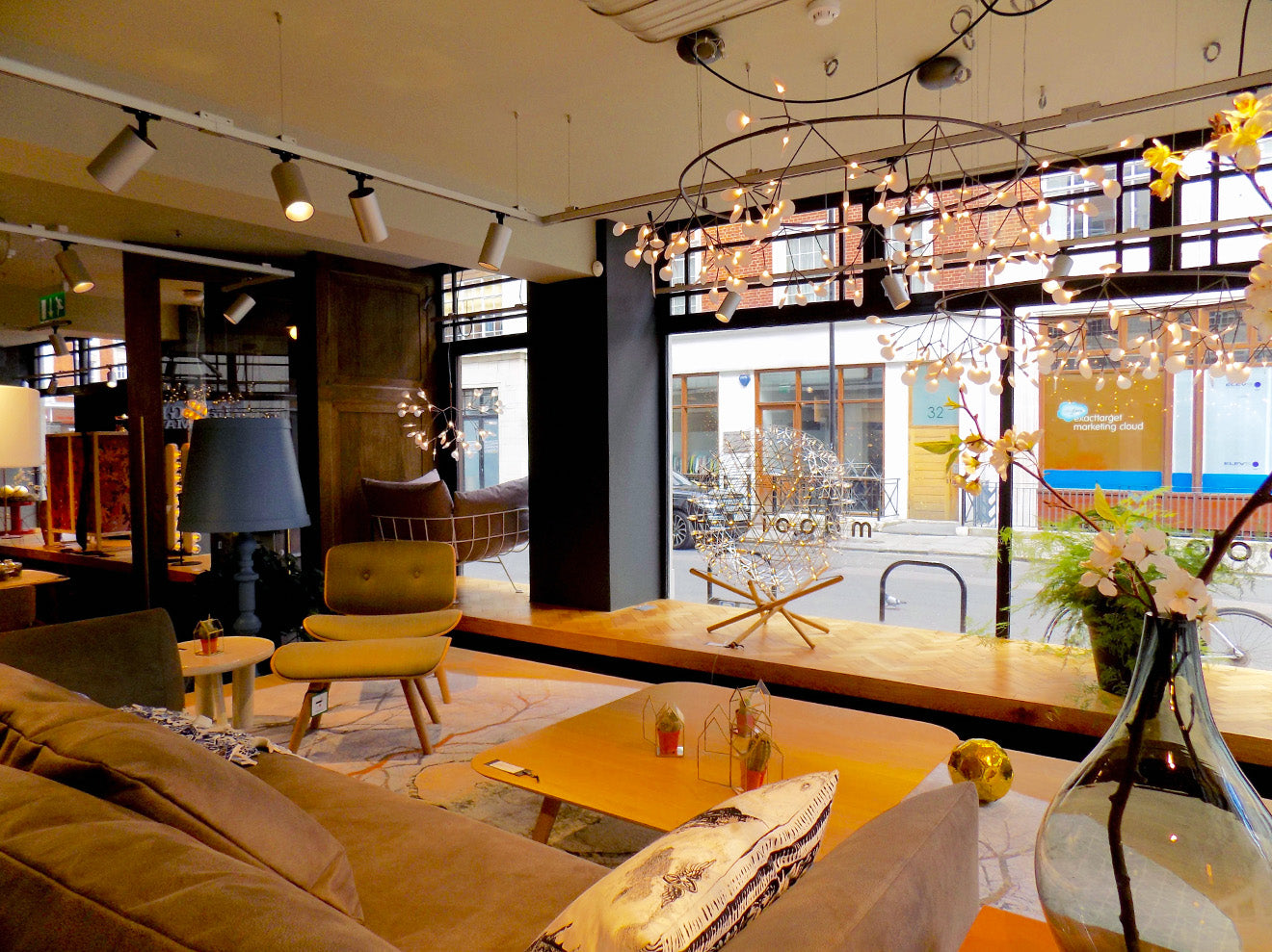 Moooi London showroom tour Oxford Street
