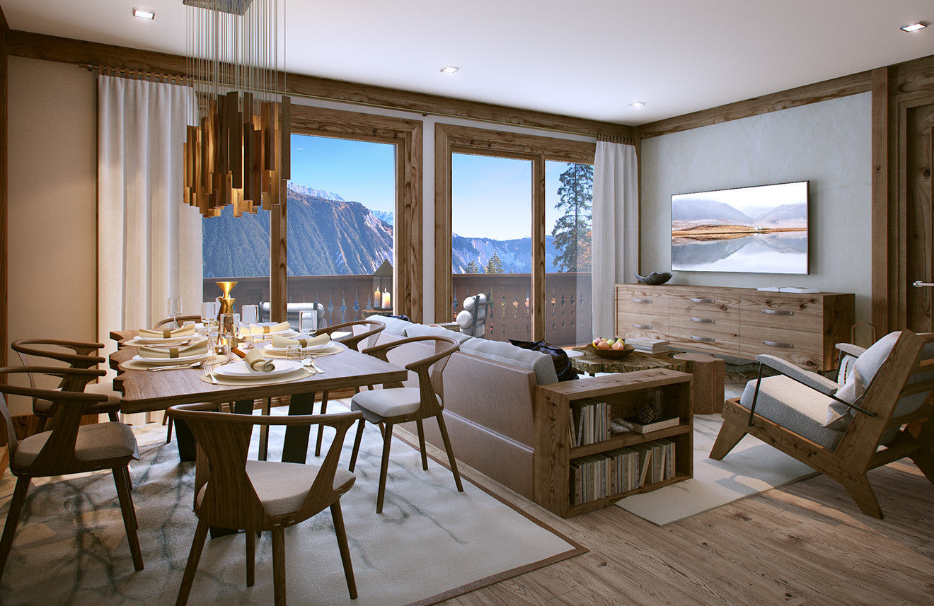 Luxury cabin residence designed by Morpheus London