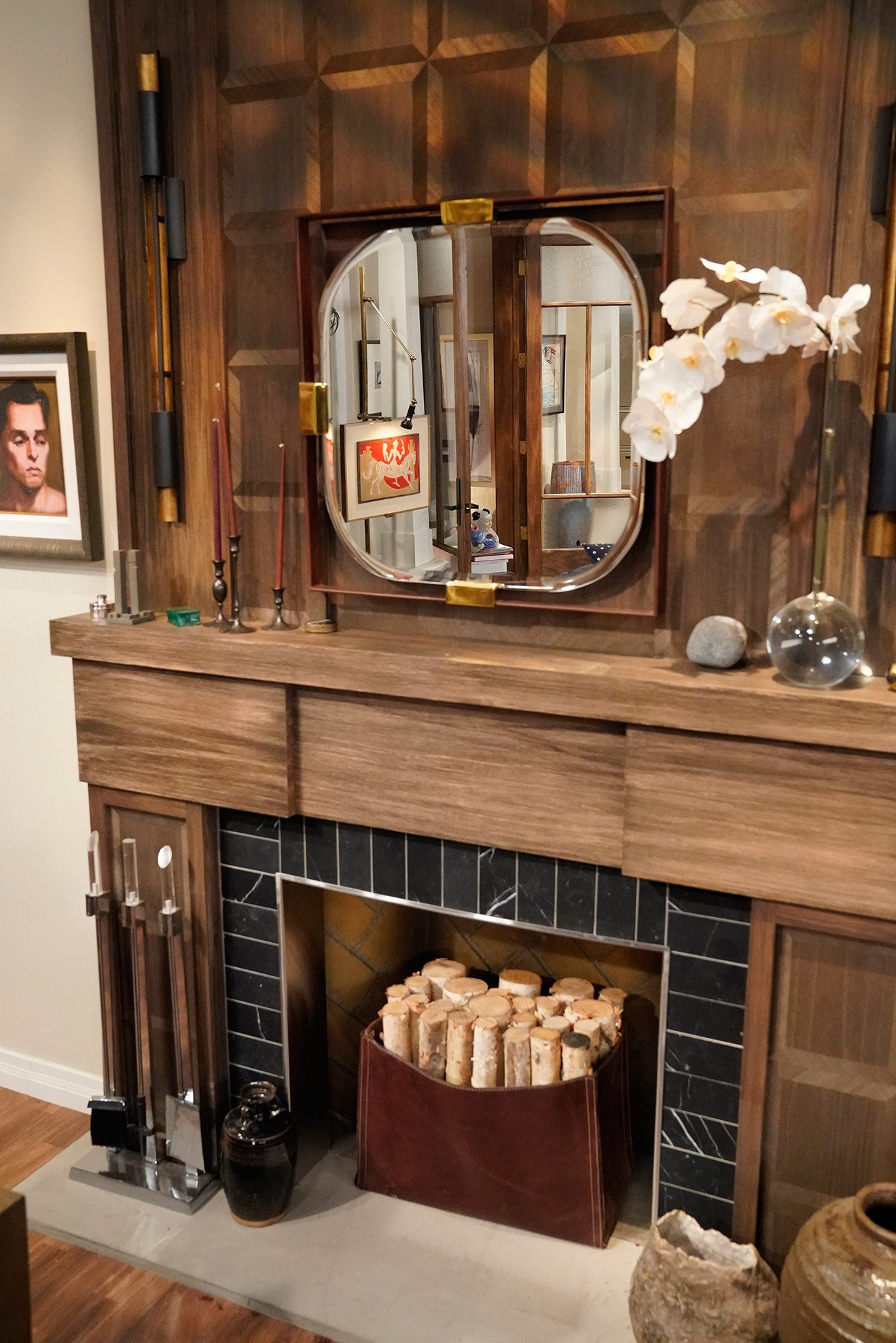NBC Will & Grace Set Design -  Will & Grace's Apartment new season 2017 Fireplace