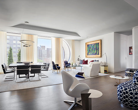 Eric Cohler Model Residence, Zaha Hadid's 520 West 28th