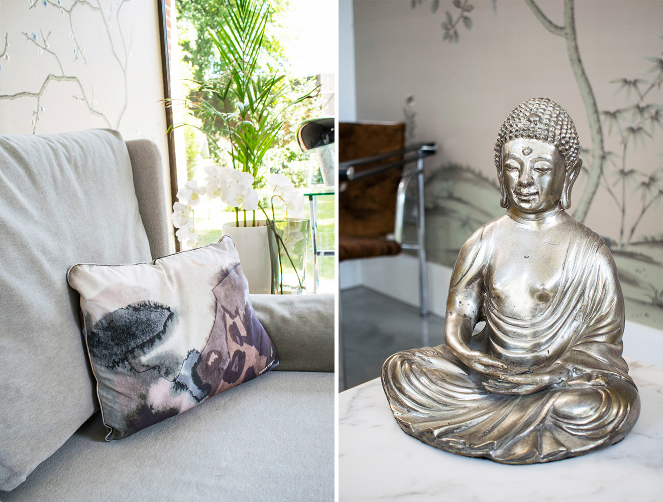 NW3 Interiors Showroom Carly Madhvani Living room accessories