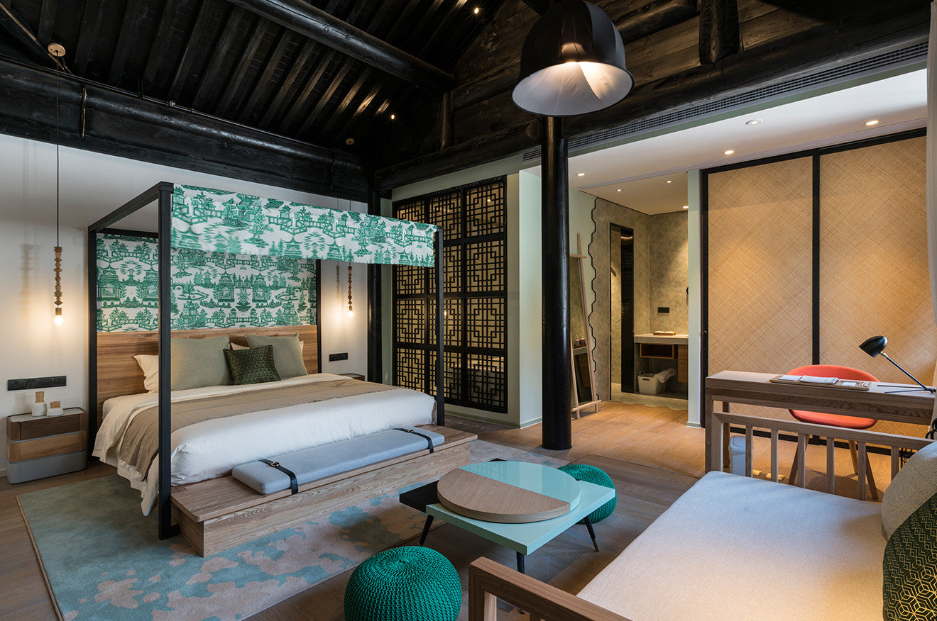 Nanxun Hotel King Suite designed by Dariel Studio