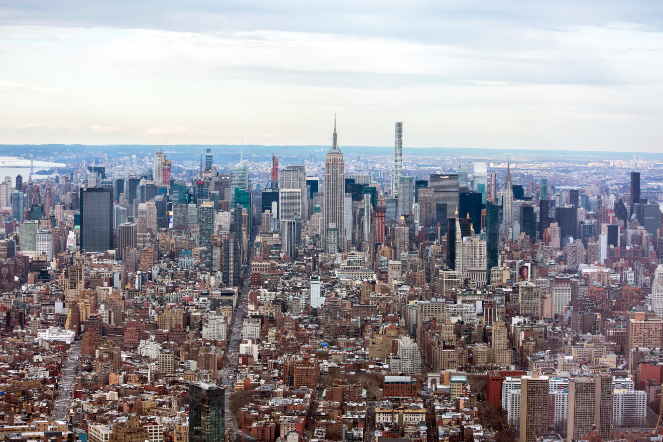 Views from the One World Trade Center observation deck