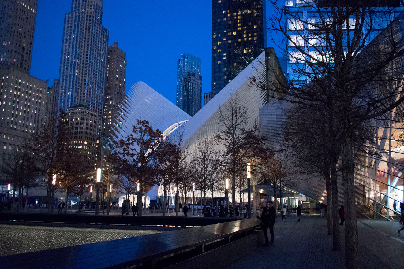 World Trade Center Memorial and station