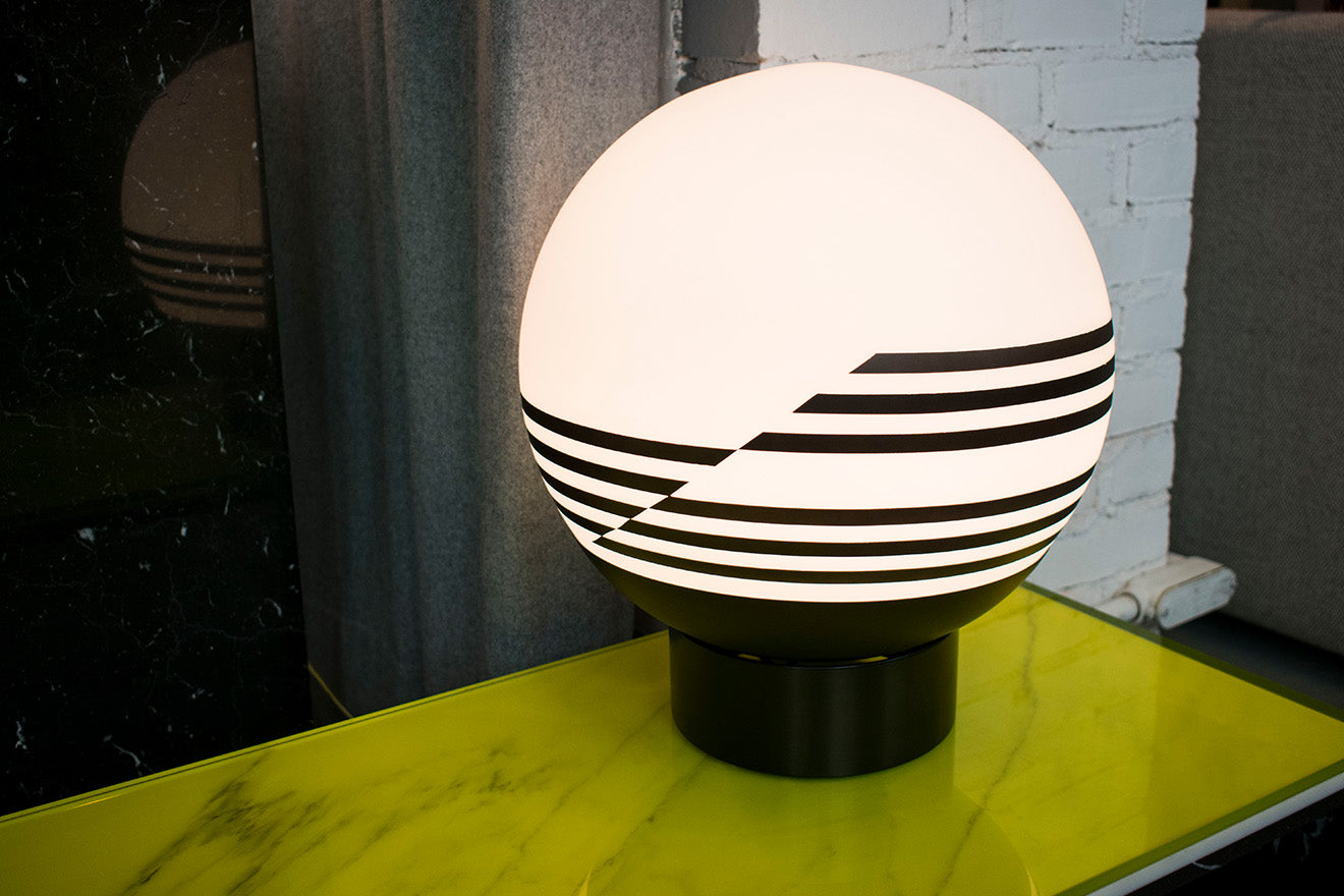 Lee Broom Opticality striped table lamp