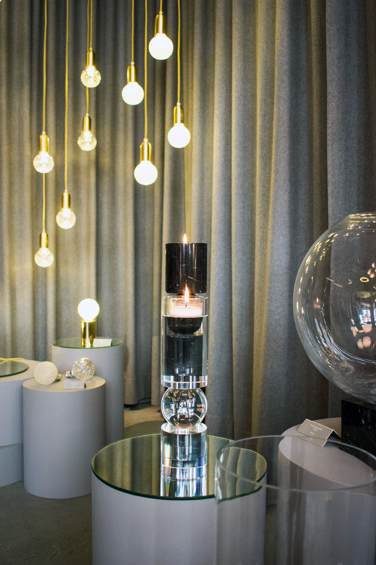 Lee Broom Candle sticks and designs New York Showroom