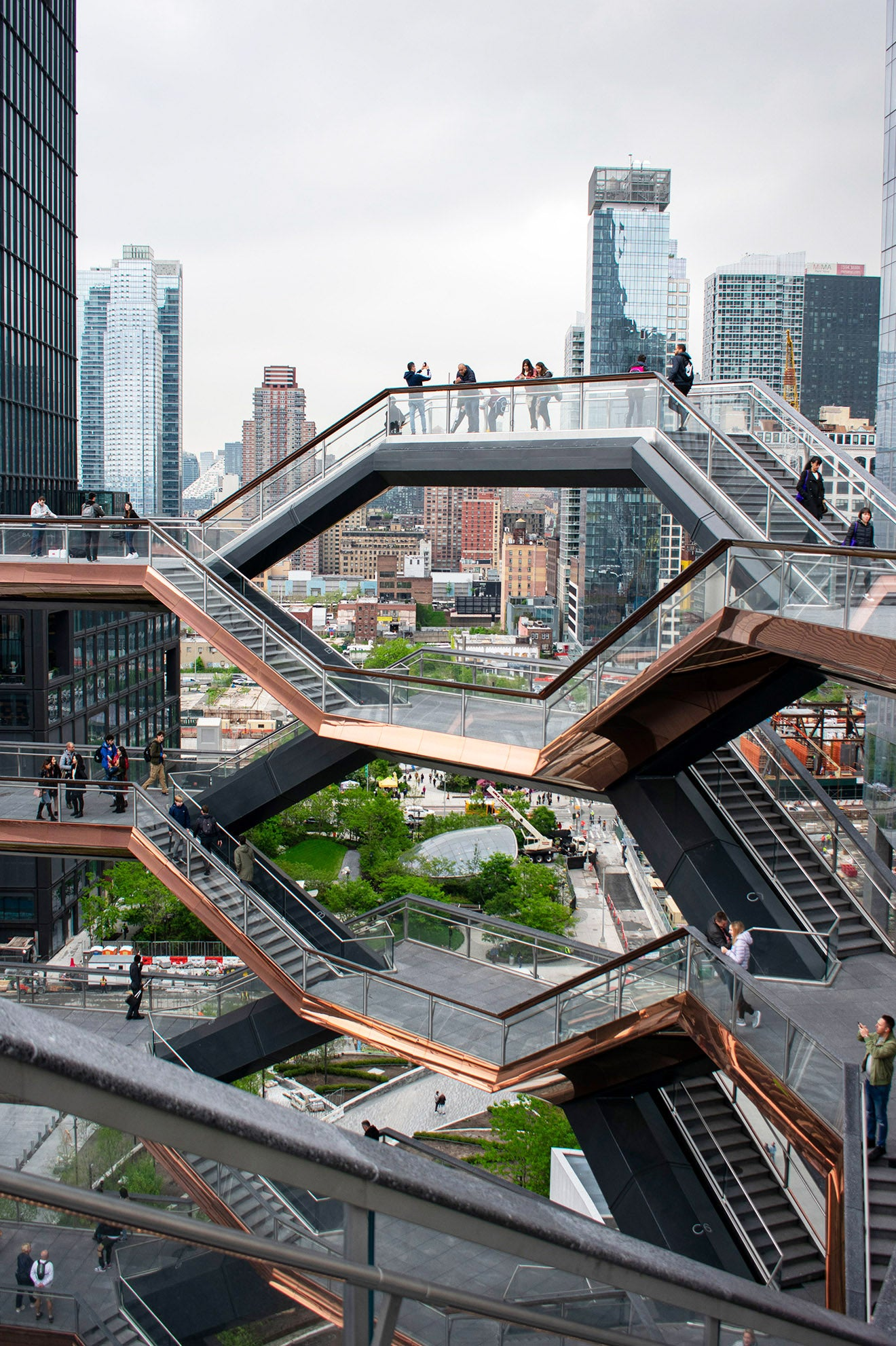 Thomas Heatherwick Vessel Hudson Yards, New York