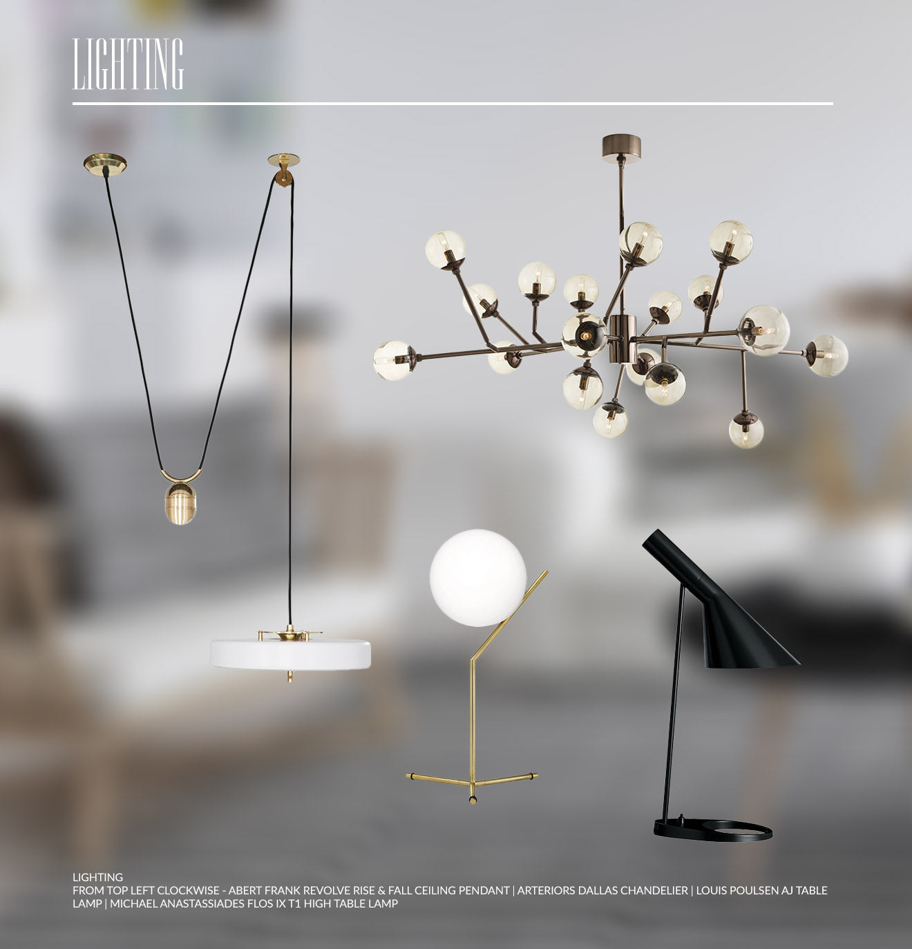 Scandinavian lighting designs and home decorating inspiration