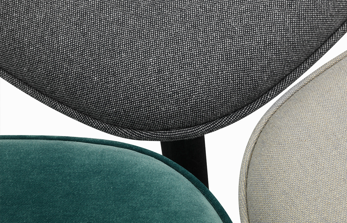 Ace chair upholstery from Normann Copenhagen Scandinavian chair design