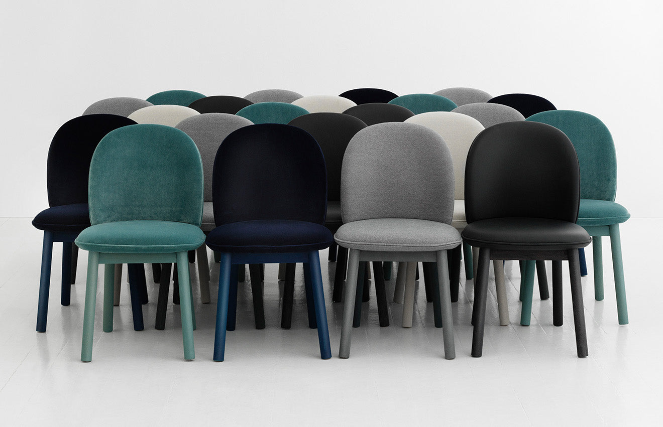 Ace chairs designed for Normann Copenhagen by Hans Hornemann