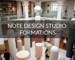 Note Design Studio: Formations installation Milan Design Week