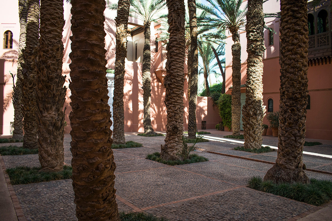 Royal Mansour Palm Court Marrakech
