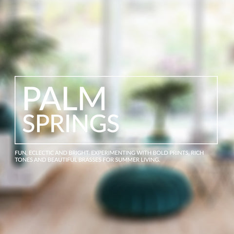 Palm Springs interior design inspiration recreate the look