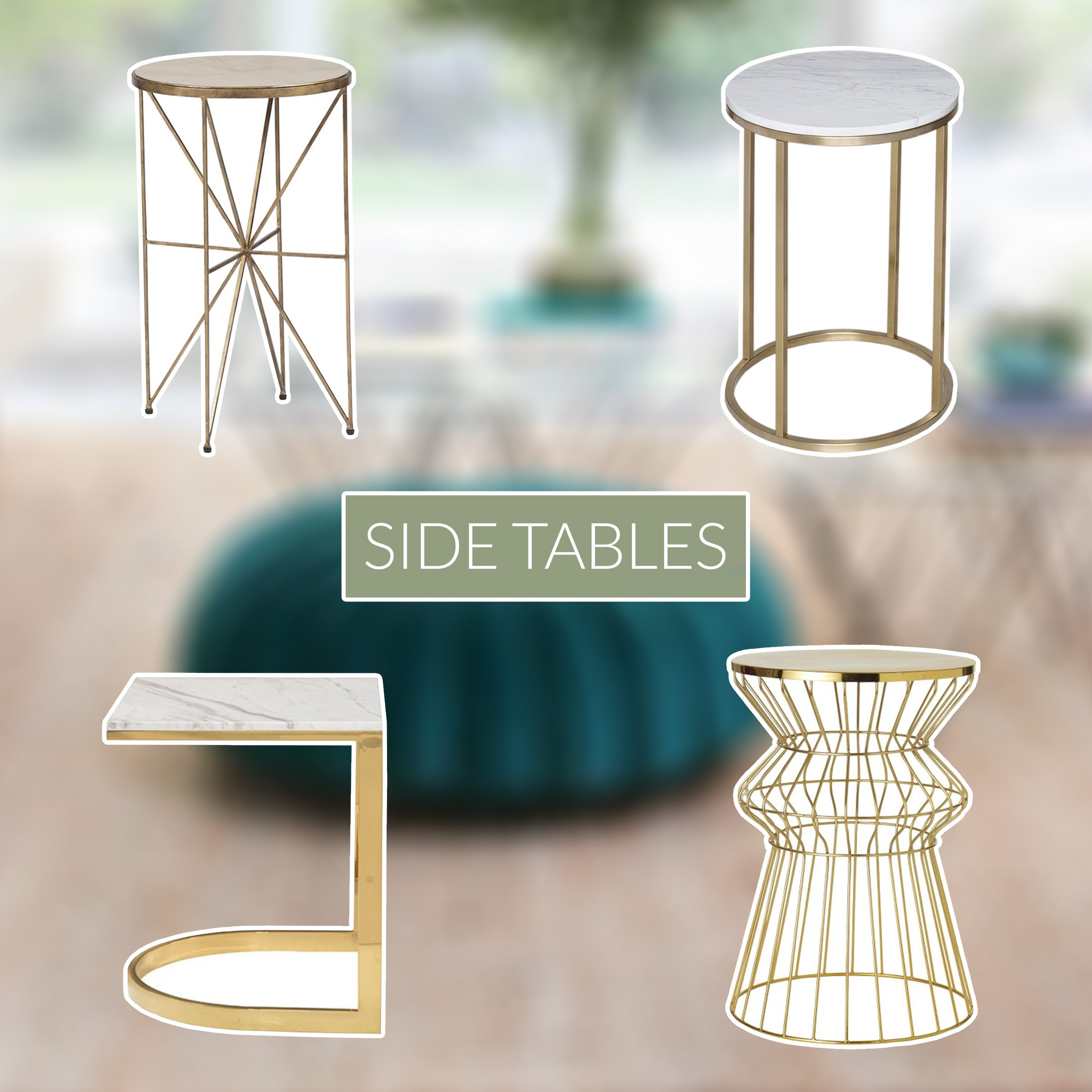 Palm Springs Side Table Inspiration and Furniture Design