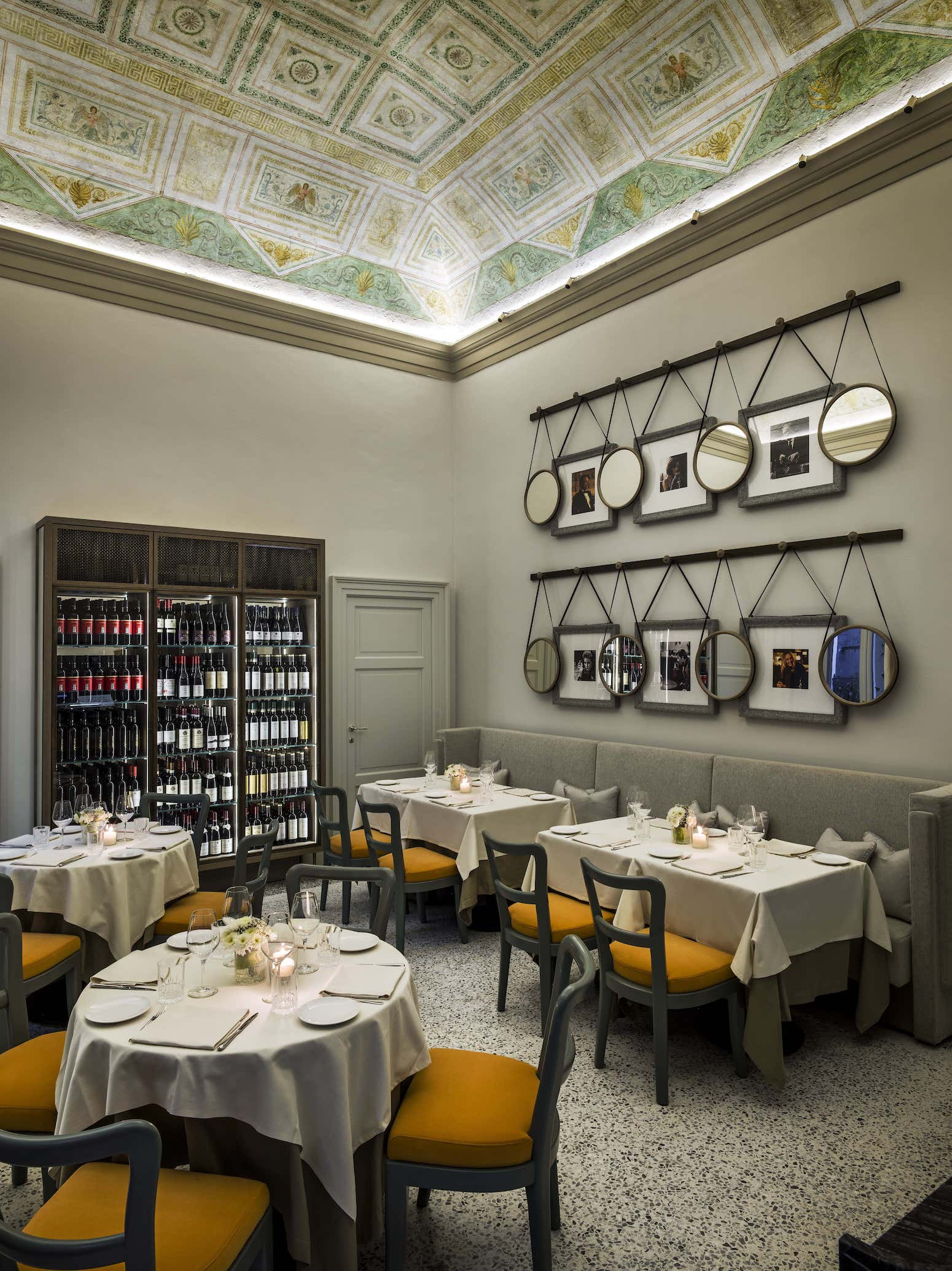 Paper Moon Giardino Restaurant in Milan designed by AB Concept Interior Design