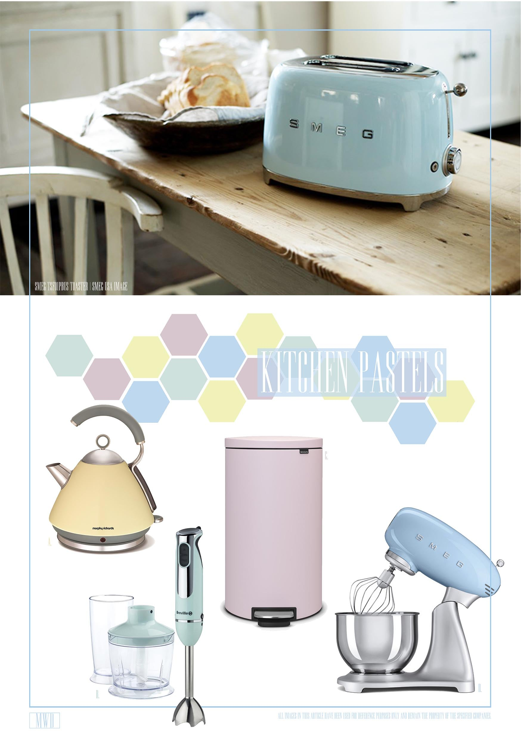 Pastel Home Accessories and appliances