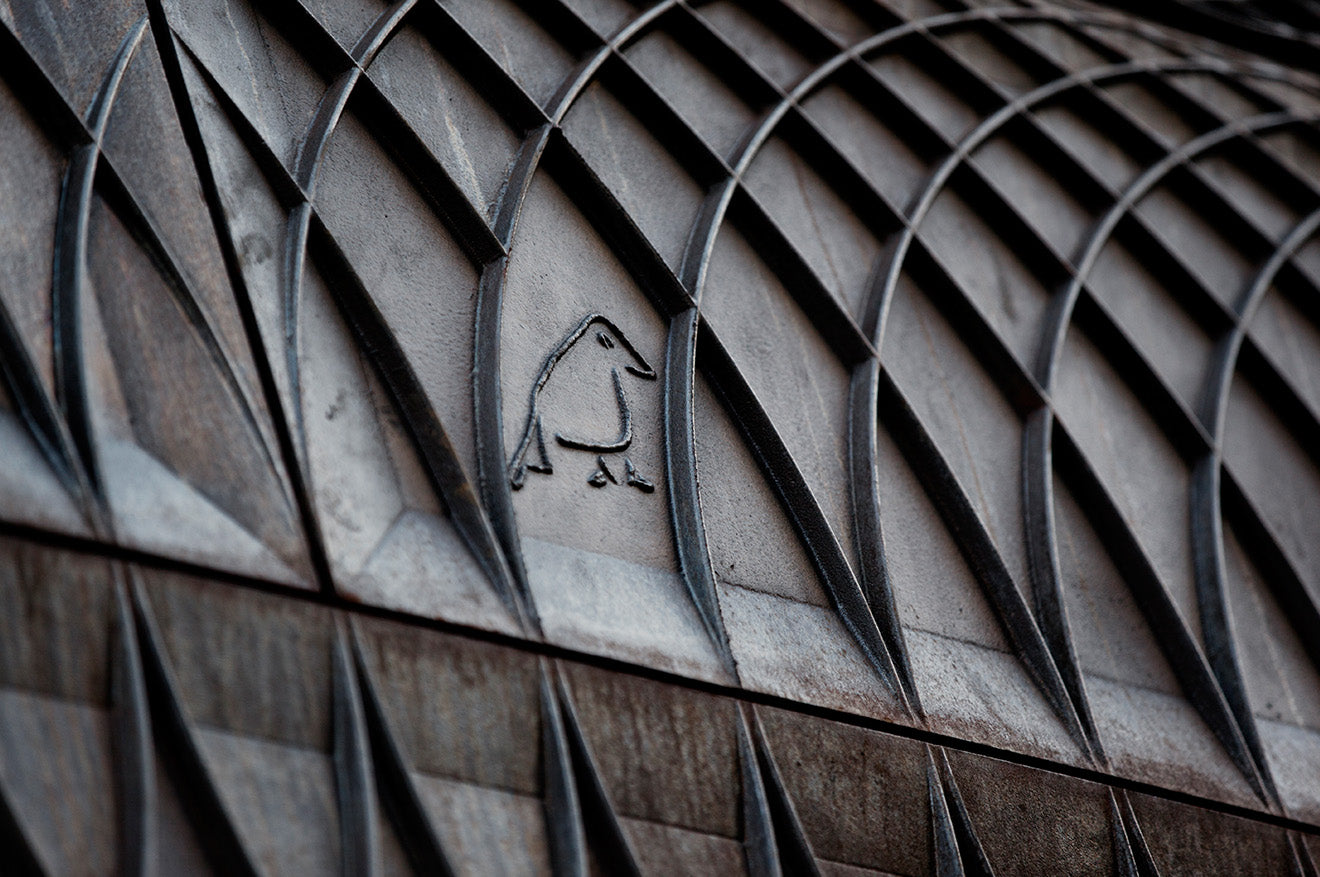 Ironwork pattern on Paul Smith Store London