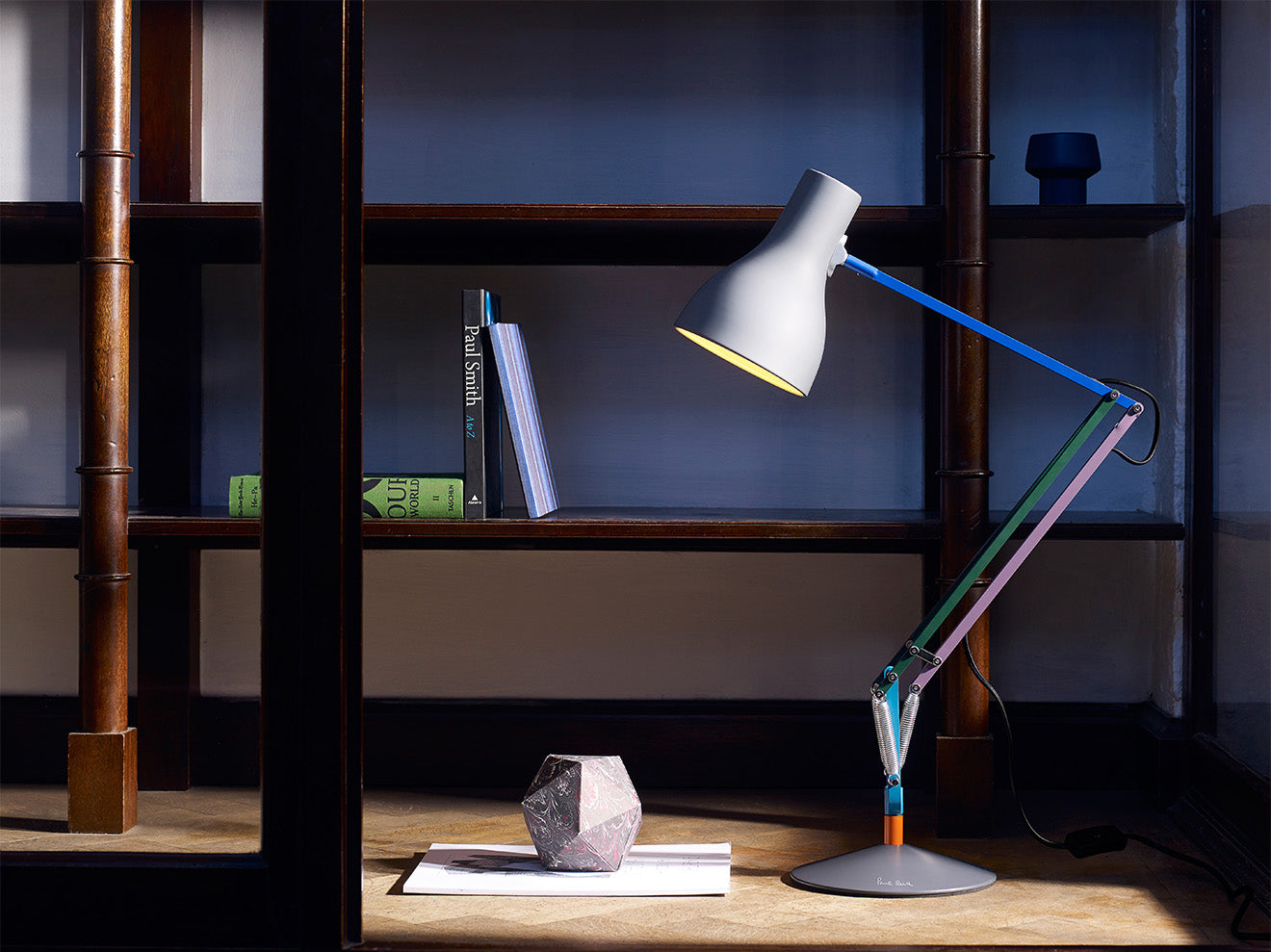 Classic office desk lamp from Paul Smith
