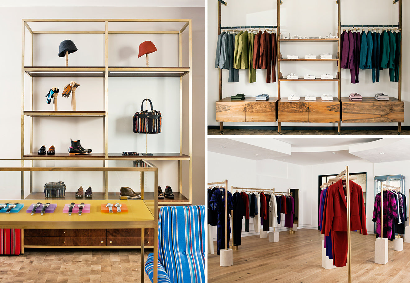 Paul Smith store design in London Albermarle Street