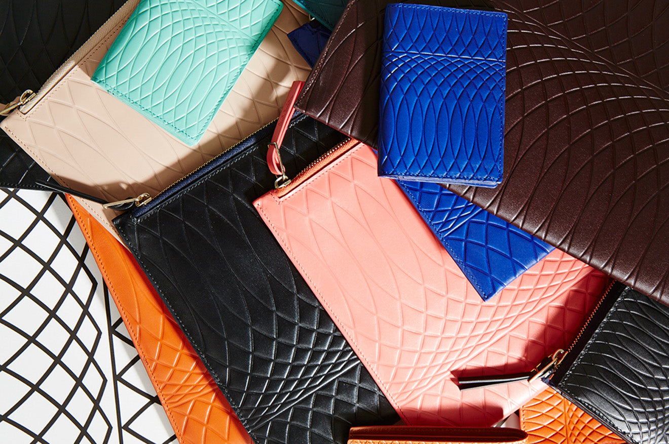 Paul Smith bright coloured leather accessories No 9 Collection