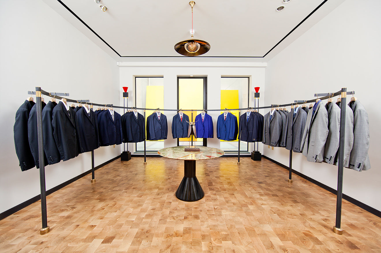 Paul Smith Mens tailoring London store display