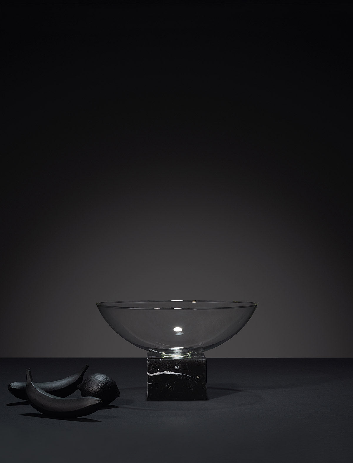 Lee Broom Podium Bowl Black