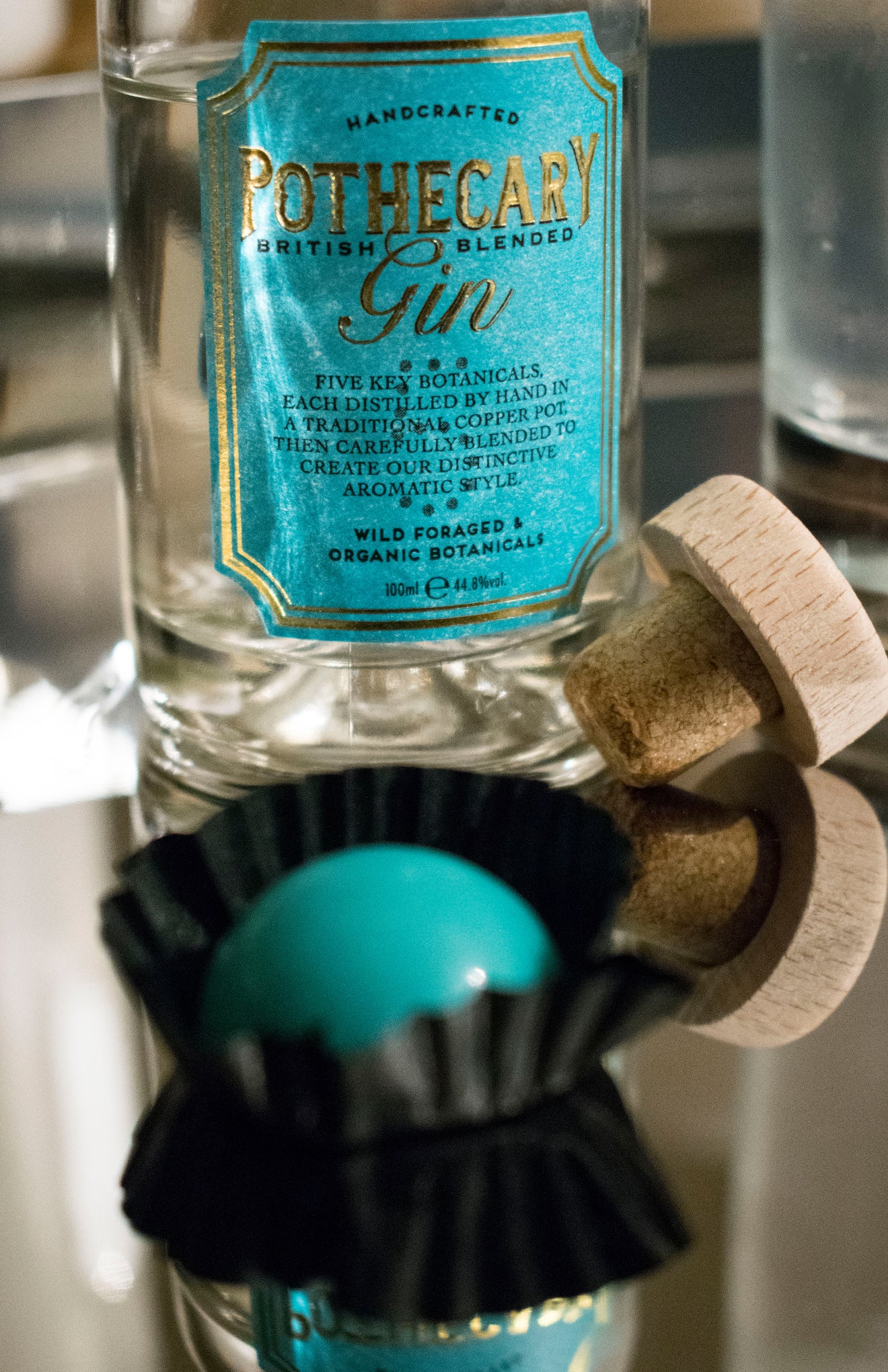 Miss Witt chocolate collaboration with Pothecary Gin
