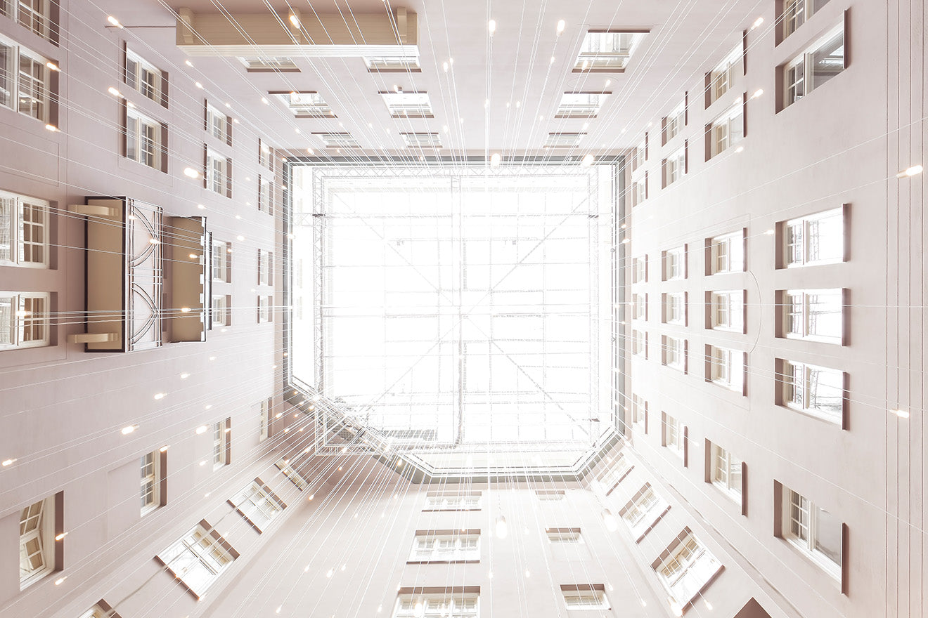 Radisson Collection Strand Stockholm Atrium Ceiling Lights