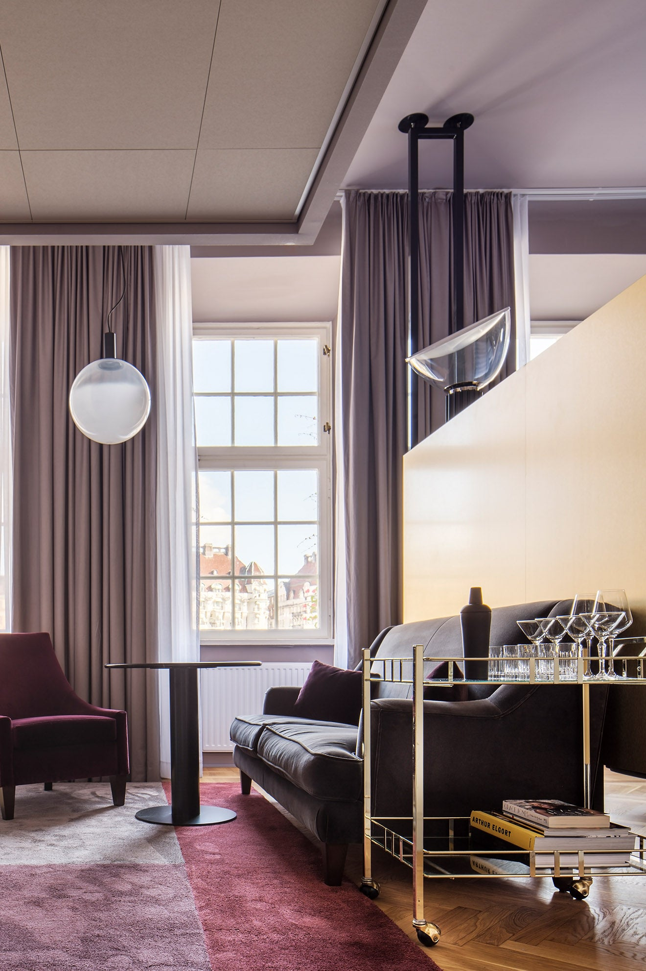 Radisson Collection Stockholm Strand Suite Lounge