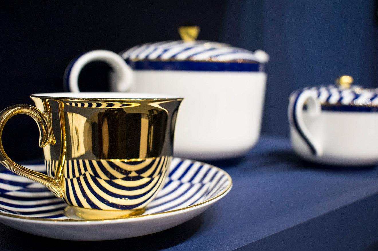 Richard Brendon meets Patternity teaware and crockery