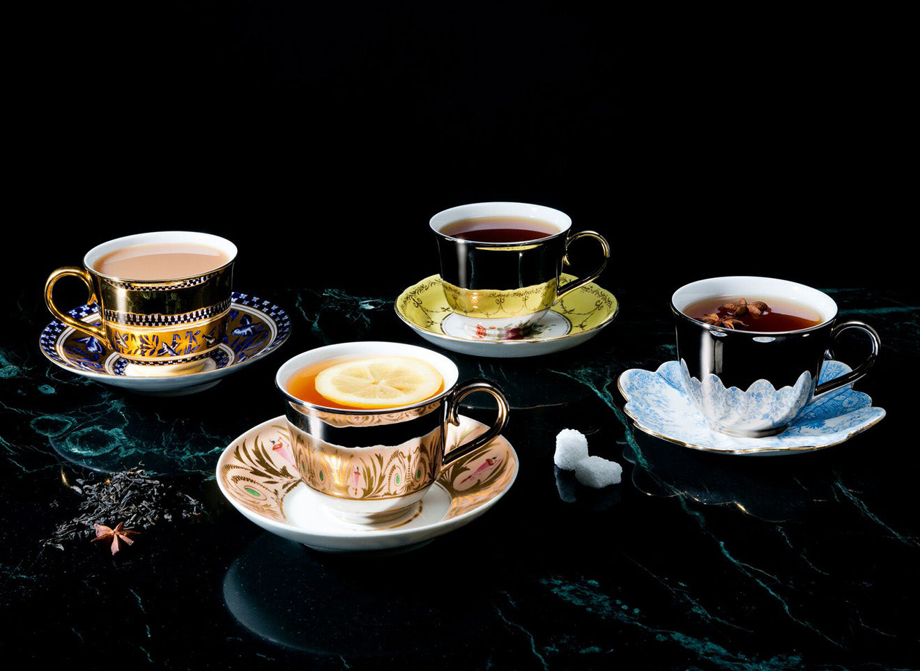 Richard Brendon Reflect cup and saucer designs