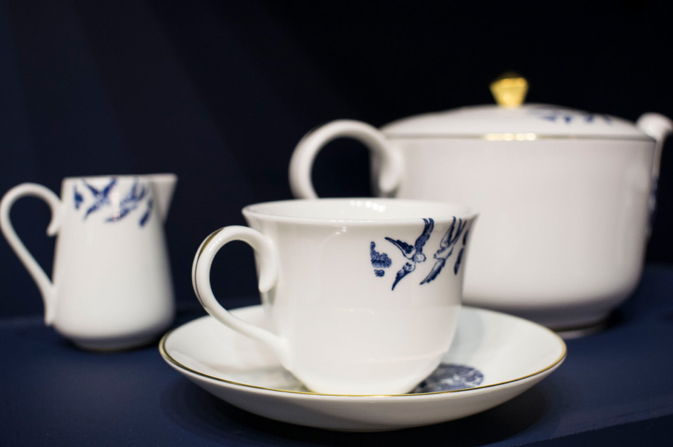 Classic teacup designs from Richard Brendon