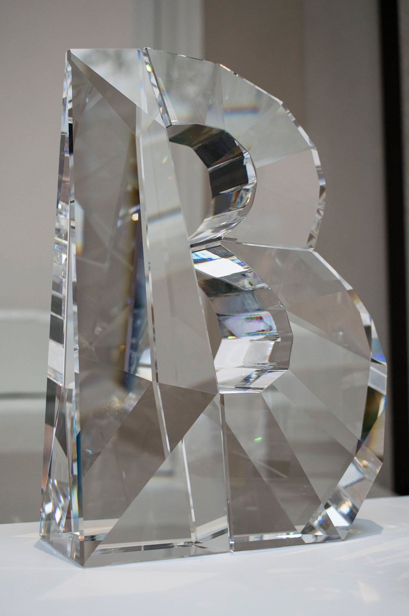 Ron Arad Alphabet and Numbers Swarovski Atelier Home