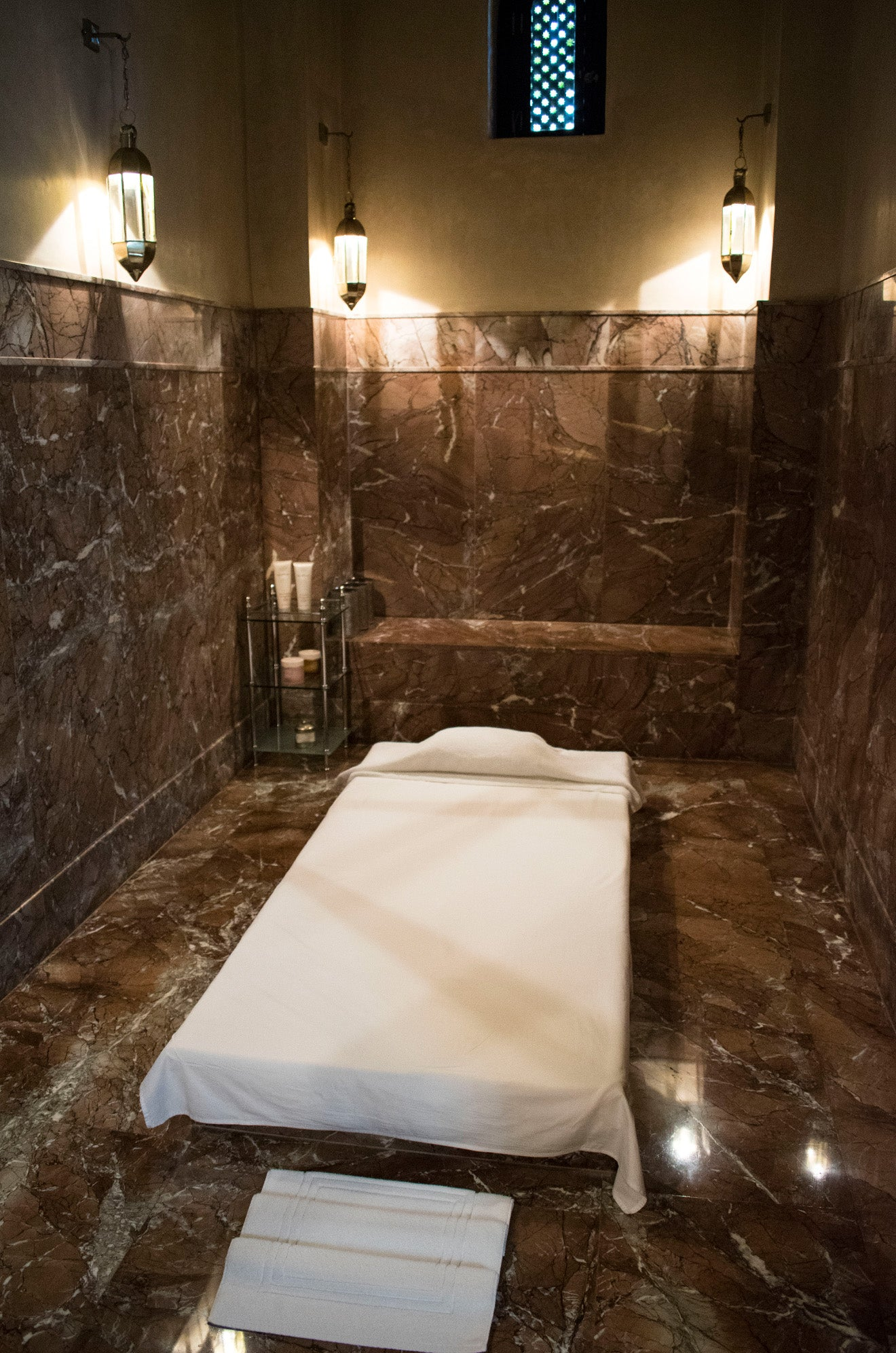 Royal Mansour Spa massage room