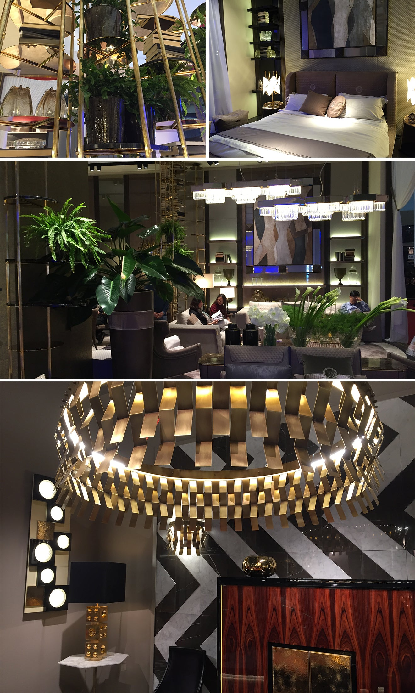 Lighting and furniture from Salone Del Mobile Milan