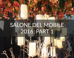 Salone del Mobile 2016 images exhibitors and highlights