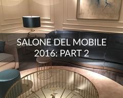 Salone Del Mobile Highlights 2016