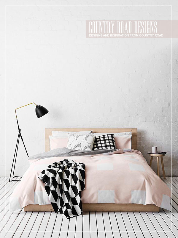 Scandinavian inspired bed sheets and duvet covers from Country Road