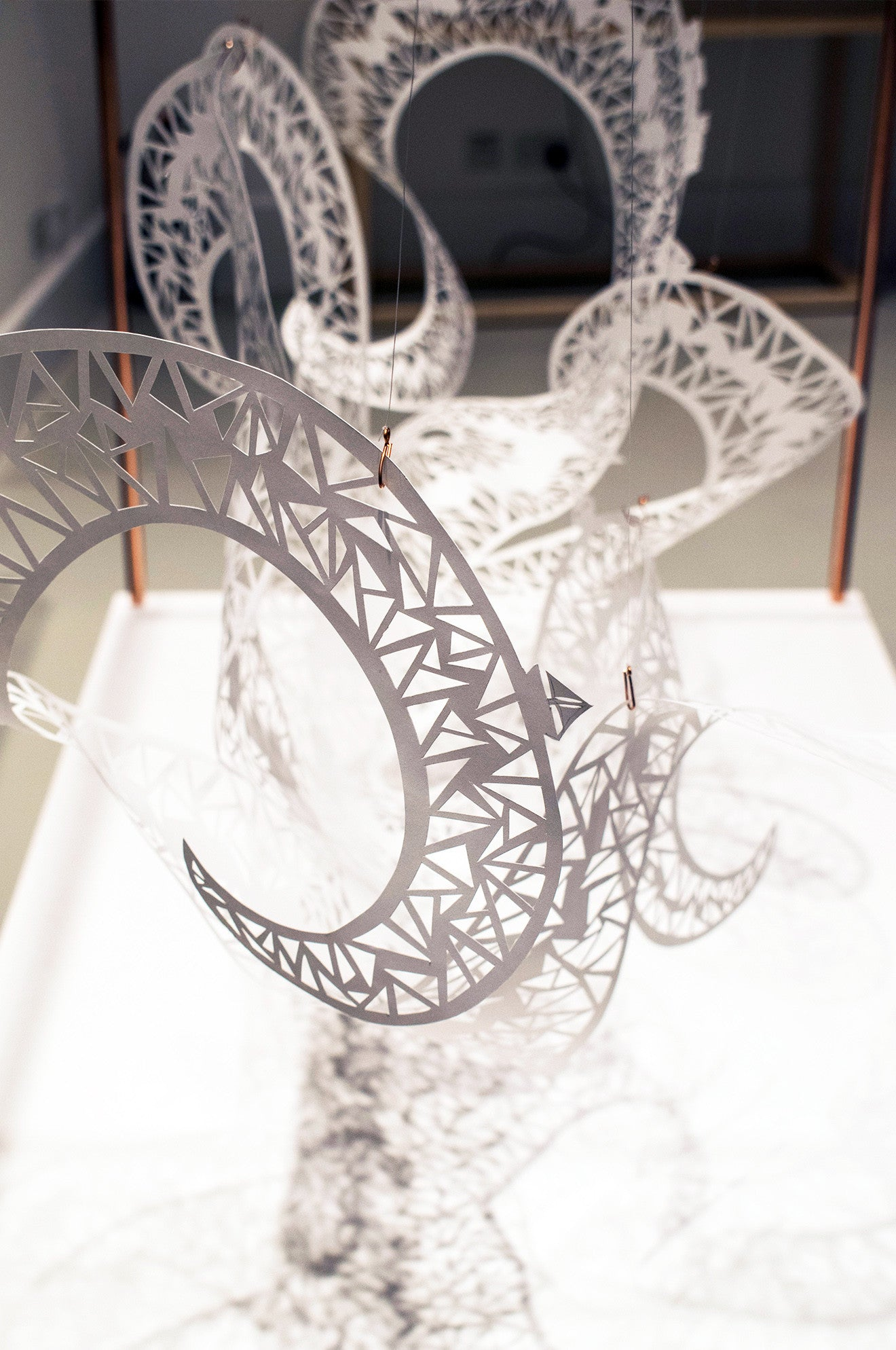 Beautiful hand cut artwork sculptures by Shannon Bartlett-Smith