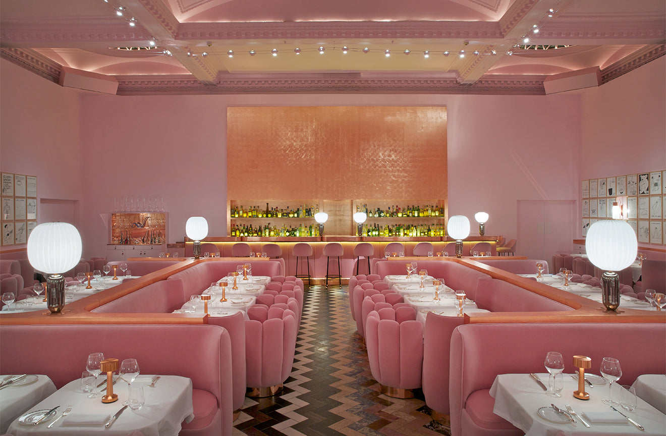 Top London Restaurants Sketch Gallery Pink restaurant London